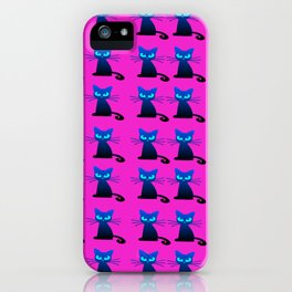 1001 Little I hate Mondays Cats iPhone Case