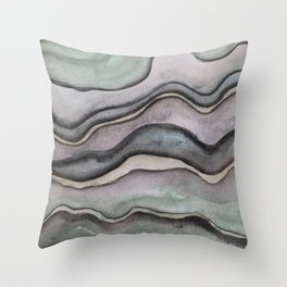 Layers 1 Throw Pillow