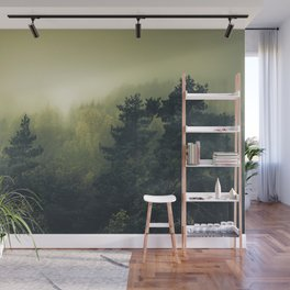 Forests never sleep Wall Mural