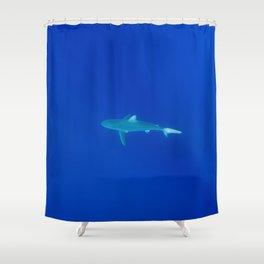 Hawaiian Shark Shower Curtain