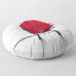JAPANESE HINOMARU FLAG SIGNS Floor Pillow