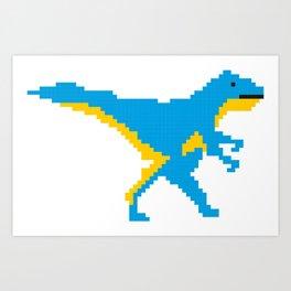Pixalasaurus Art Print