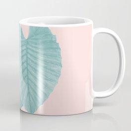 Love Leaves Evergreen Blush - Him & Her #2 #decor #art #society6 Coffee Mug