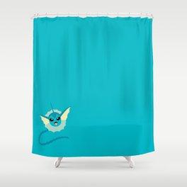 Vaporeon Shower Curtain