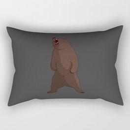 Bear - by Rui Guerreiro Rectangular Pillow