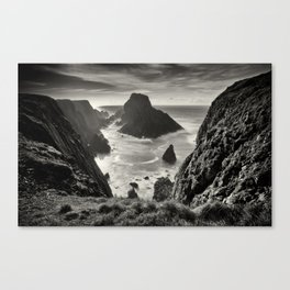 Malin Head Sea Stacks Canvas Print