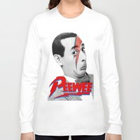pee wee Long Sleeve T-shirts featuring Pee wee by Iamzombieteeth Clothing