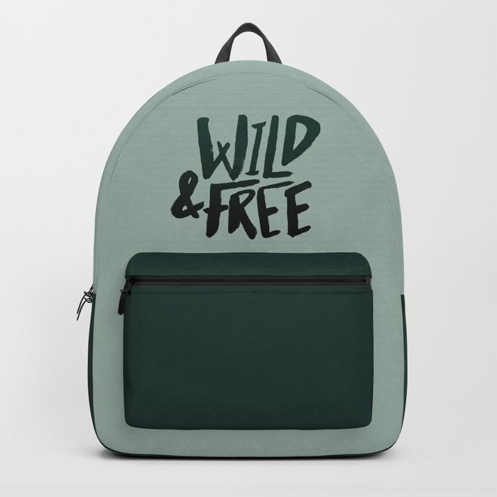 Wild & Free x Olive Green Backpack