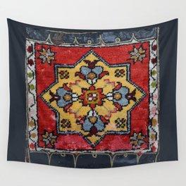Antique Carpet Sadle Bag Wall Tapestry
