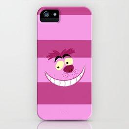Cheshire Cat Alice in Wonderland iPhone Case