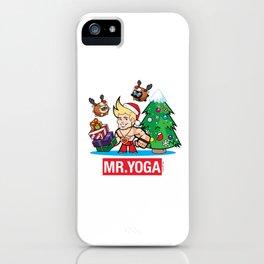 Mr Yoga iPhone Case