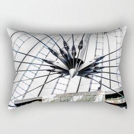 Roof of berlin shopping center Rectangular Pillow