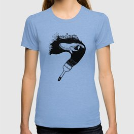 Inktober whale T-shirt