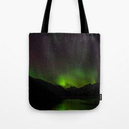 Northern Lights in Norway 01 Tote Bag