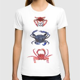 Crab stack T-shirt