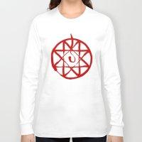 fullmetal Long Sleeve T-shirts featuring Alphonse by KanaHyde