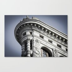 Top of the Iron Canvas Print