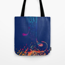 I love musical notes #5 Tote Bag