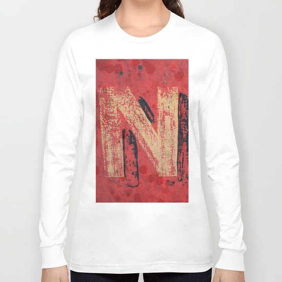 No non Red Long Sleeve T-shirt