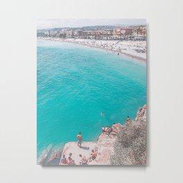 beach coast Metal Print