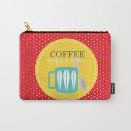COFFEE - A Hug In A Mug Carry-All Pouch