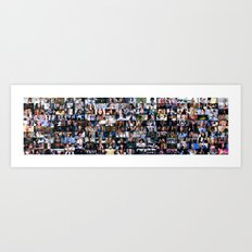 Grey's Anatomy - 200 Episodes Art Print