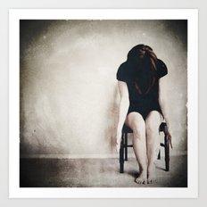 chair series no.1 Art Print
