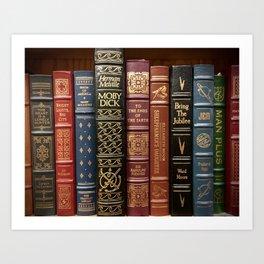 Bibliophile Art Print