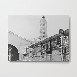 Ballarat Train station Metal Print