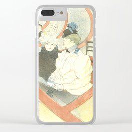 "Henri de Toulouse-Lautrec ""The Grand Theater Box (La grande loge)"" Clear iPhone Case"