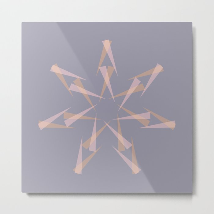 Pastel XMas Design I Metal Print