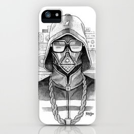Def Vader iPhone Case