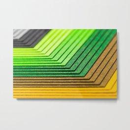 Color plies Metal Print