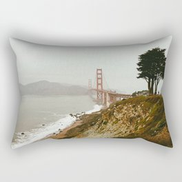 Golden Gate Bridge / San Francisco, California Rectangular Pillow