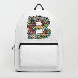 Alphabet B. The alphabet series Backpack