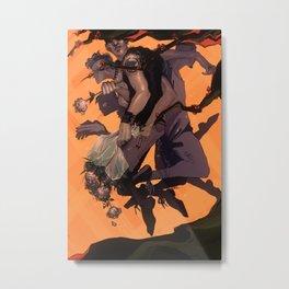 flowerpunk Metal Print