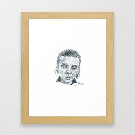 Eleven's Portrait Framed Art Print