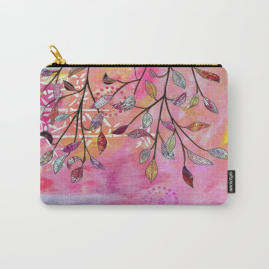 branch triptych No. 3 Carry-All Pouch