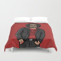 ali gulec Duvet Covers featuring Ali Primera POP - TrincheraCreativa by Trinchera Creativa