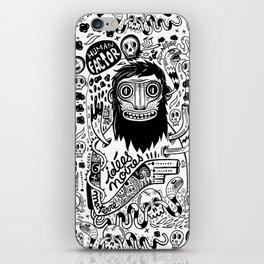 Idées noires iPhone Skin