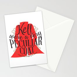 Peculiar (on white) Stationery Cards