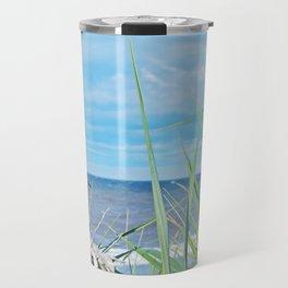 Through Grass and Driftwood Travel Mug