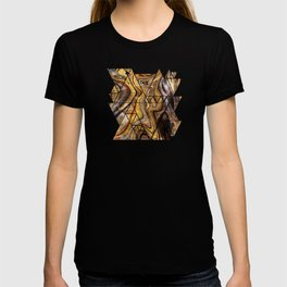 Tiger's Eye gemstone pattern T-shirt