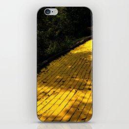 Follow The Yellow Brick Road iPhone Skin