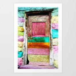 La Porte Du Bonheur Art Print