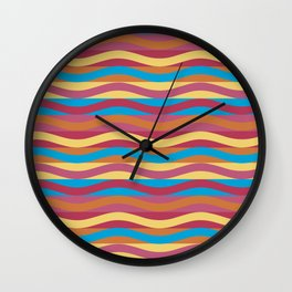 Psychedelic Pattern #4 Wall Clock