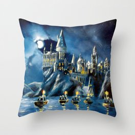 Moonlit Magic Throw Pillow