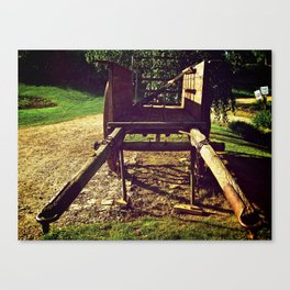 Country Wheels Canvas Print