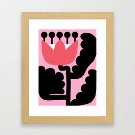 Pink Wonderland Framed Art Print