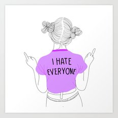 everyone Art Print